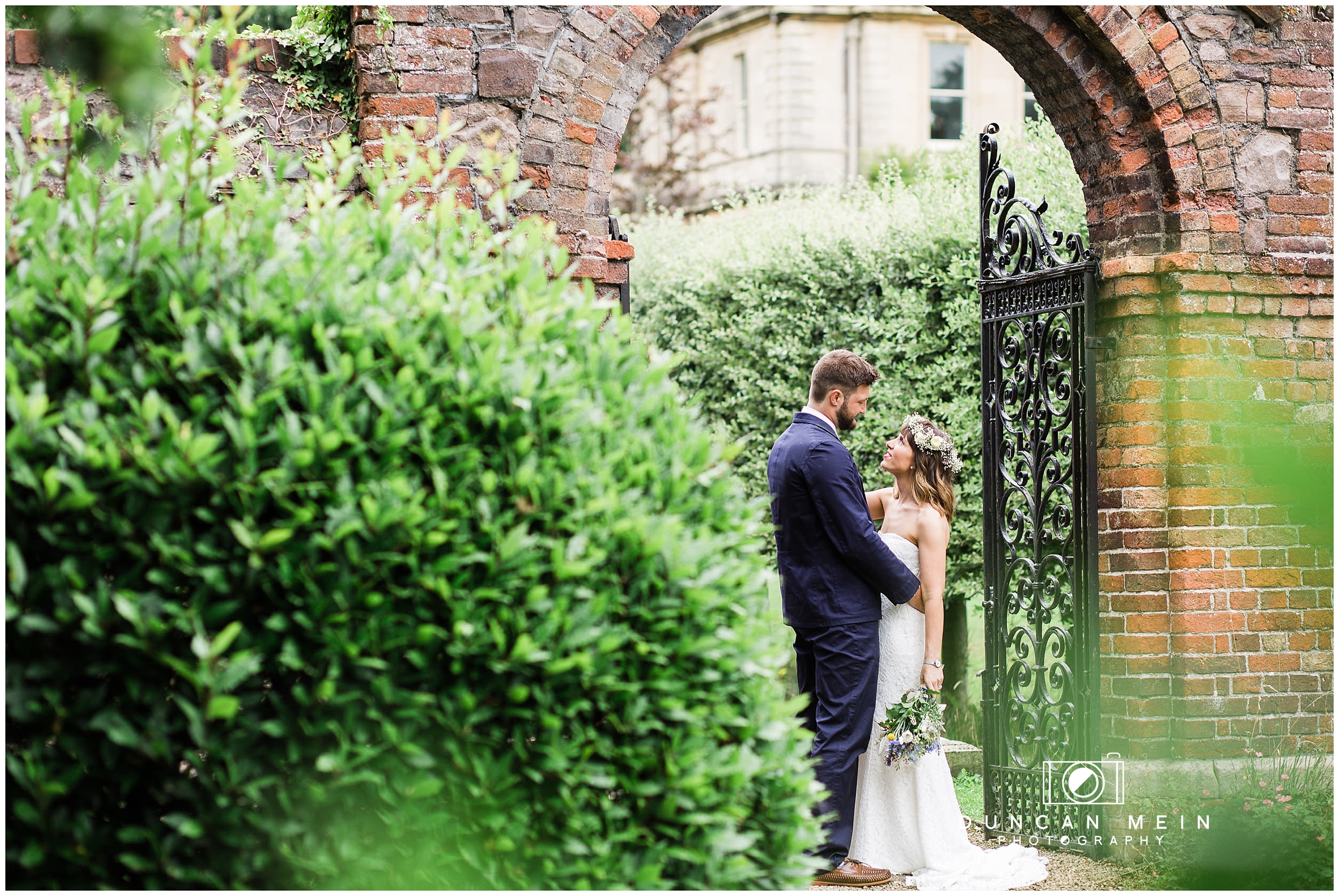 Wedding at Goldney Hall