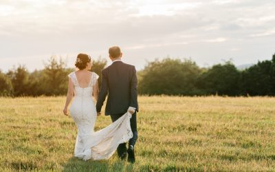 Huntstile Organic Farm Wedding // Caroline and Nick