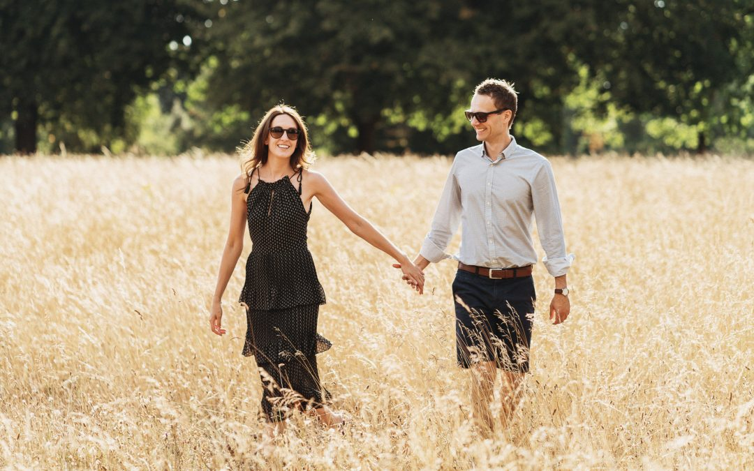 Engagement Shoot on Clifton Downs