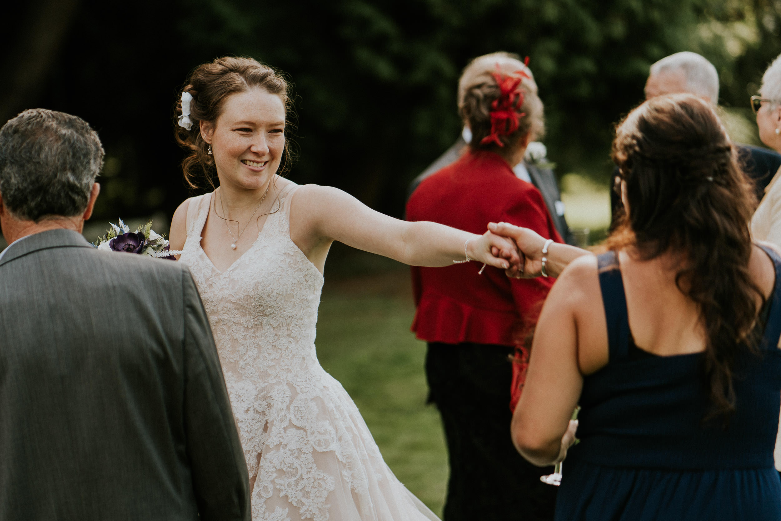 Pennard House Wedding - Bride