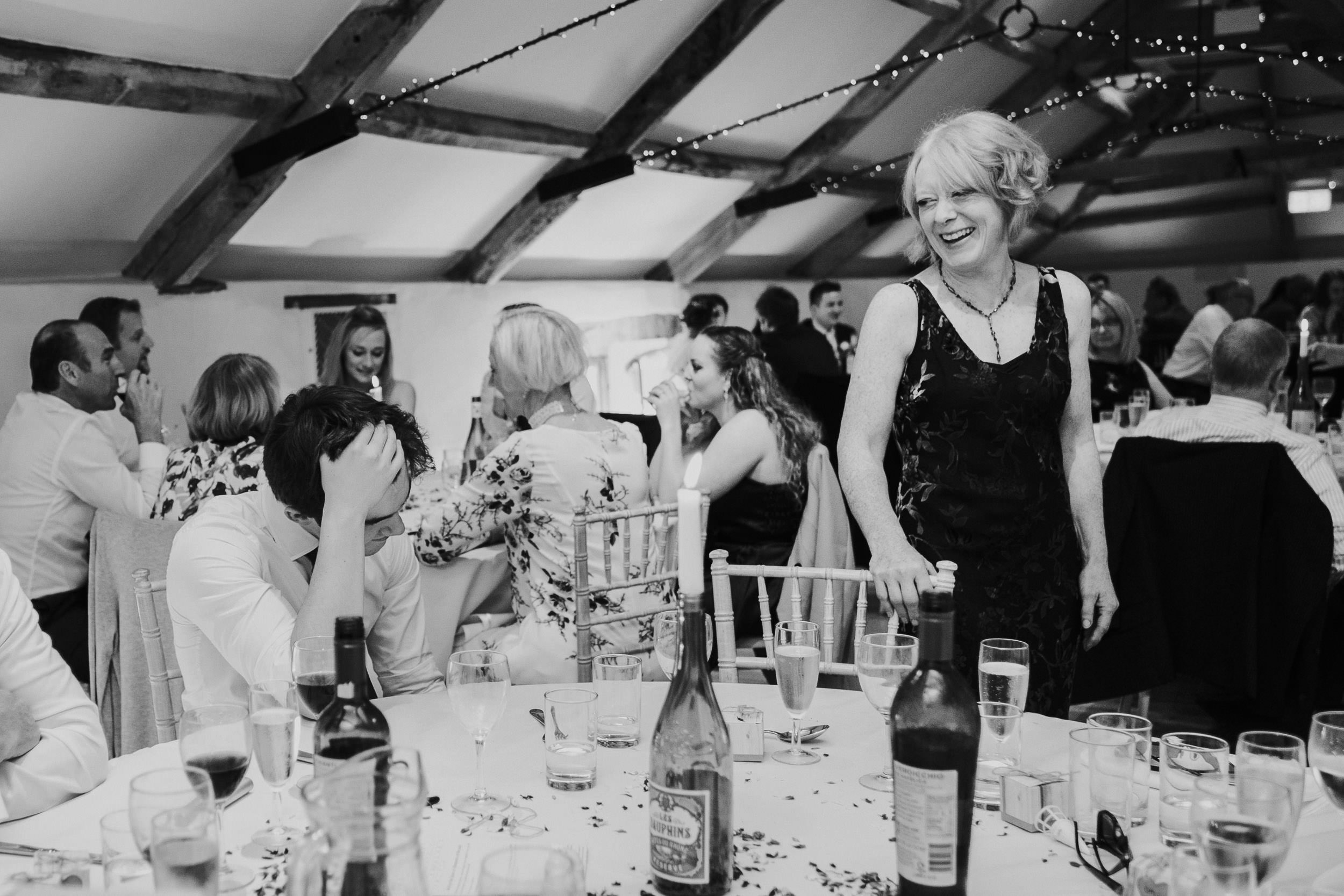 Pennard House Wedding - Wedding Guests