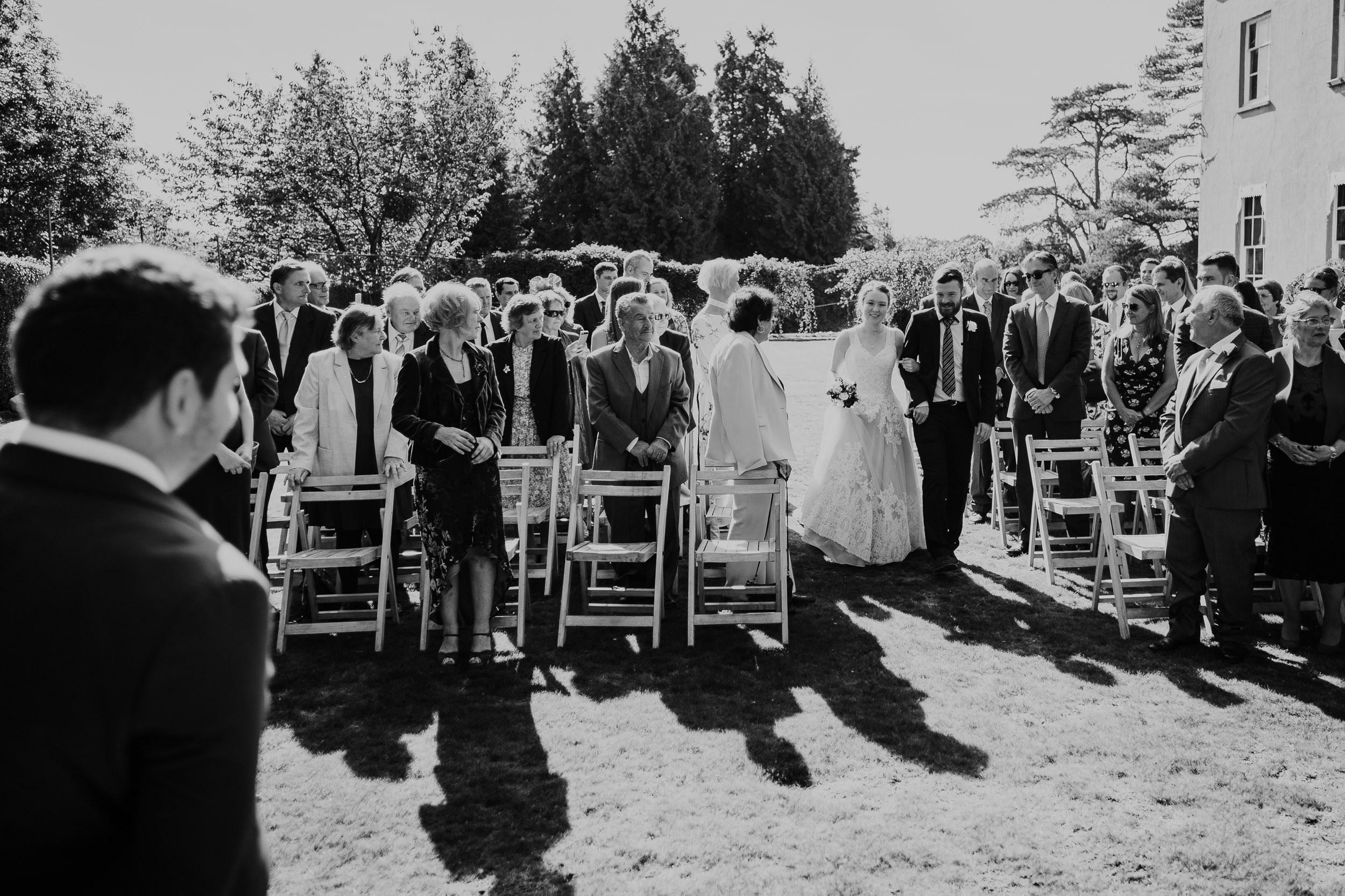 Pennard House Wedding - Outdoor Ceremony