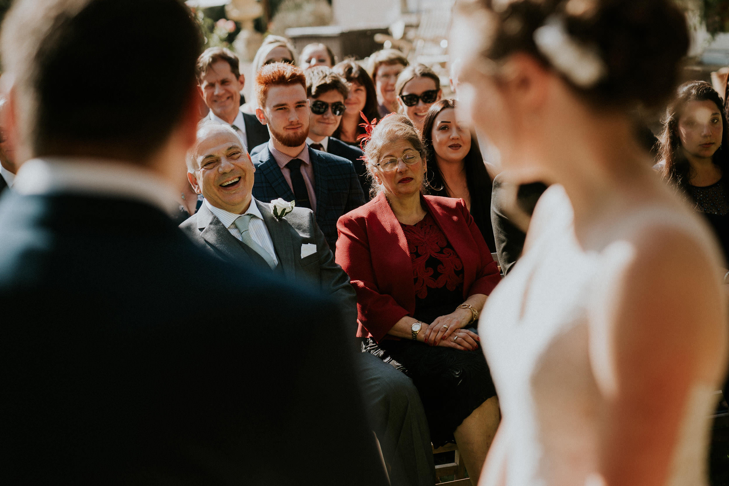 Pennard House Wedding - Ceremony