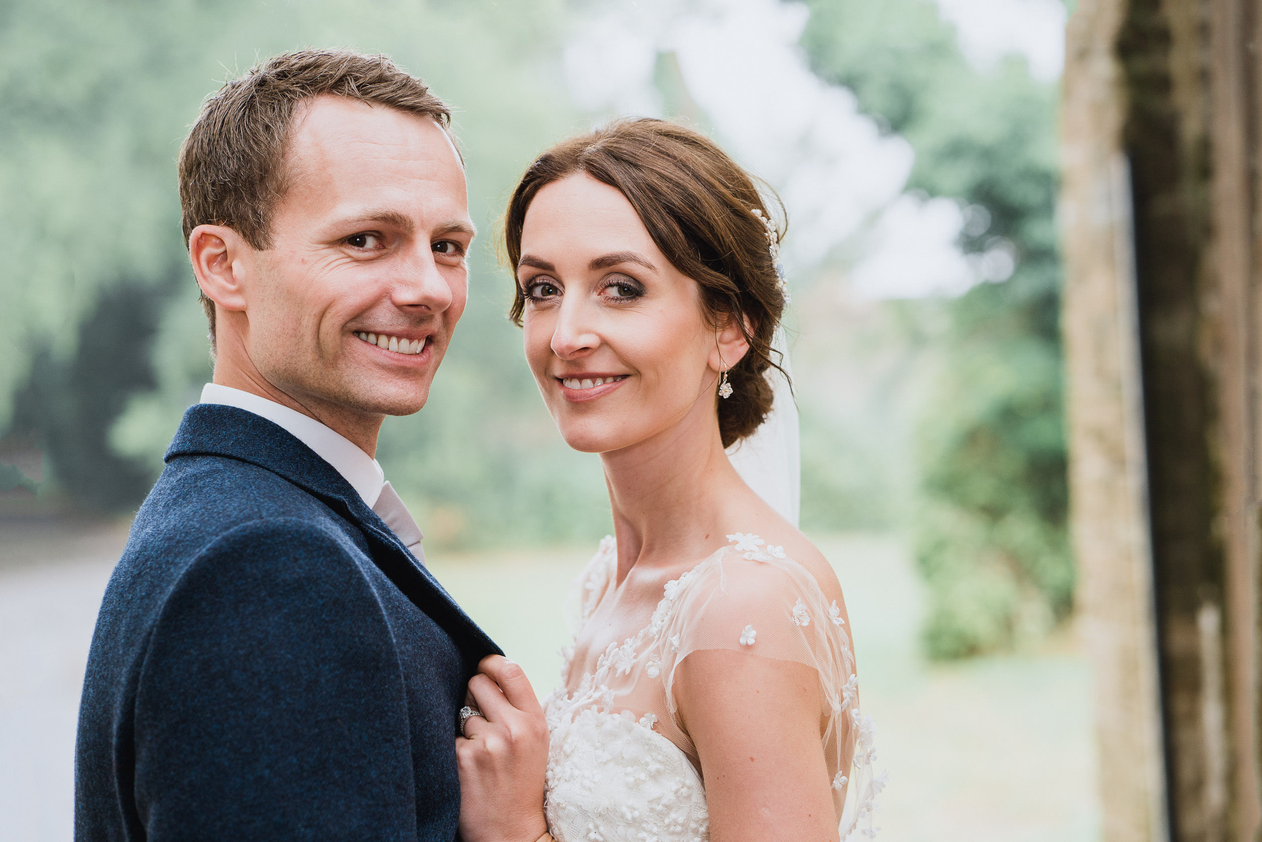 Orchardleigh Estate Wedding - Bride and Groom Portrait