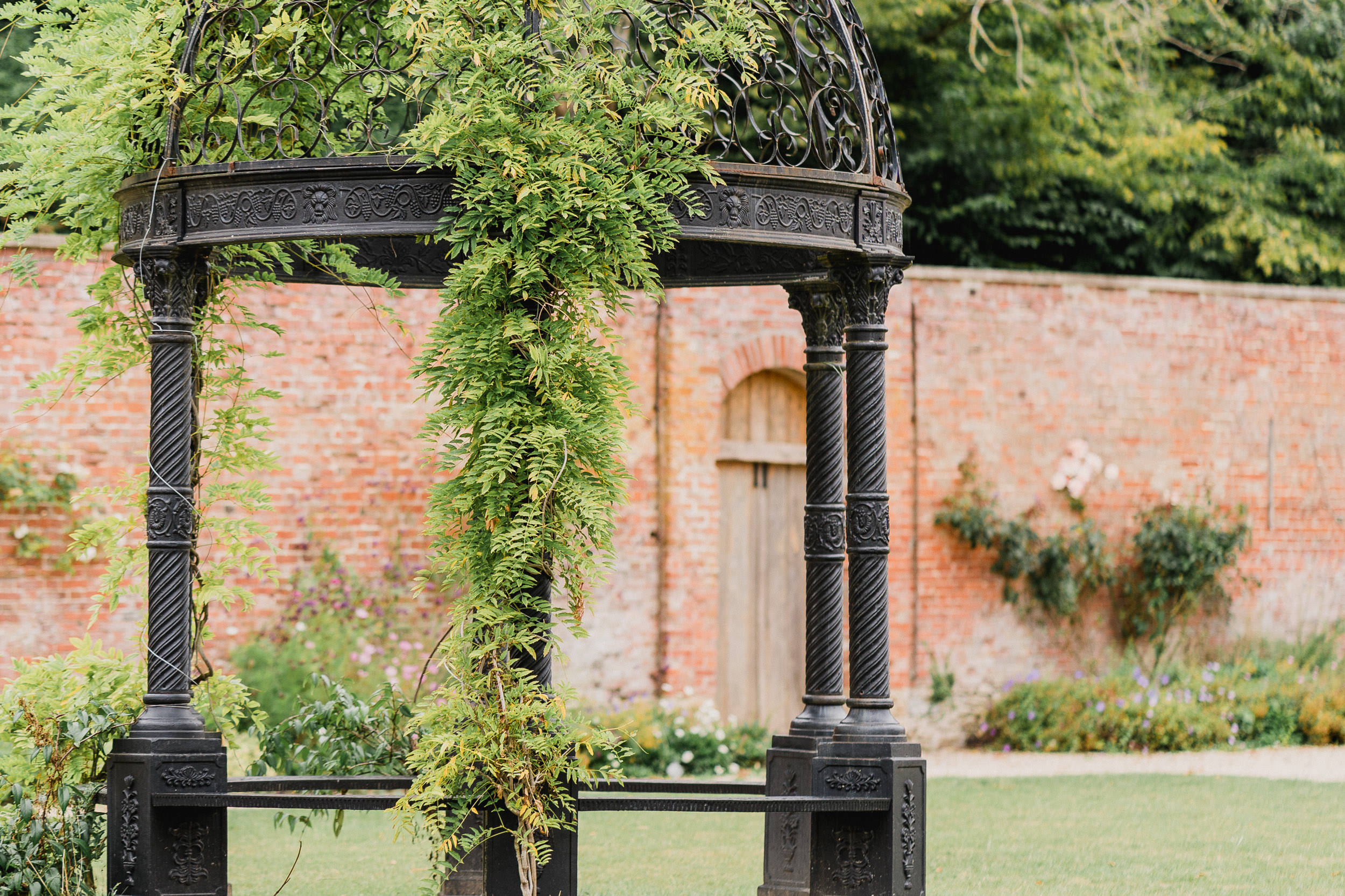 Orchardleigh Estate Wedding - The Walled Garden