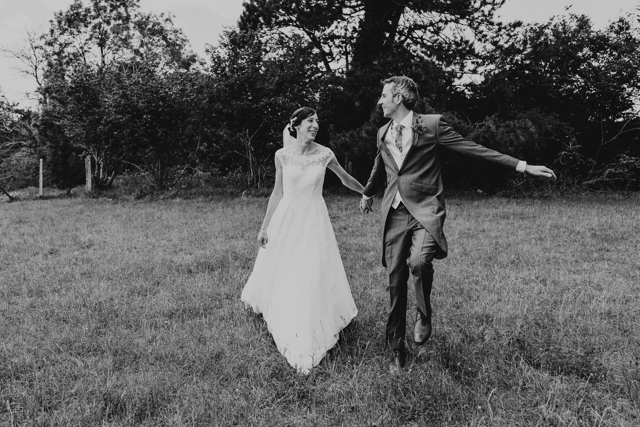 The Bride and Groom dancing on Clifton Downs