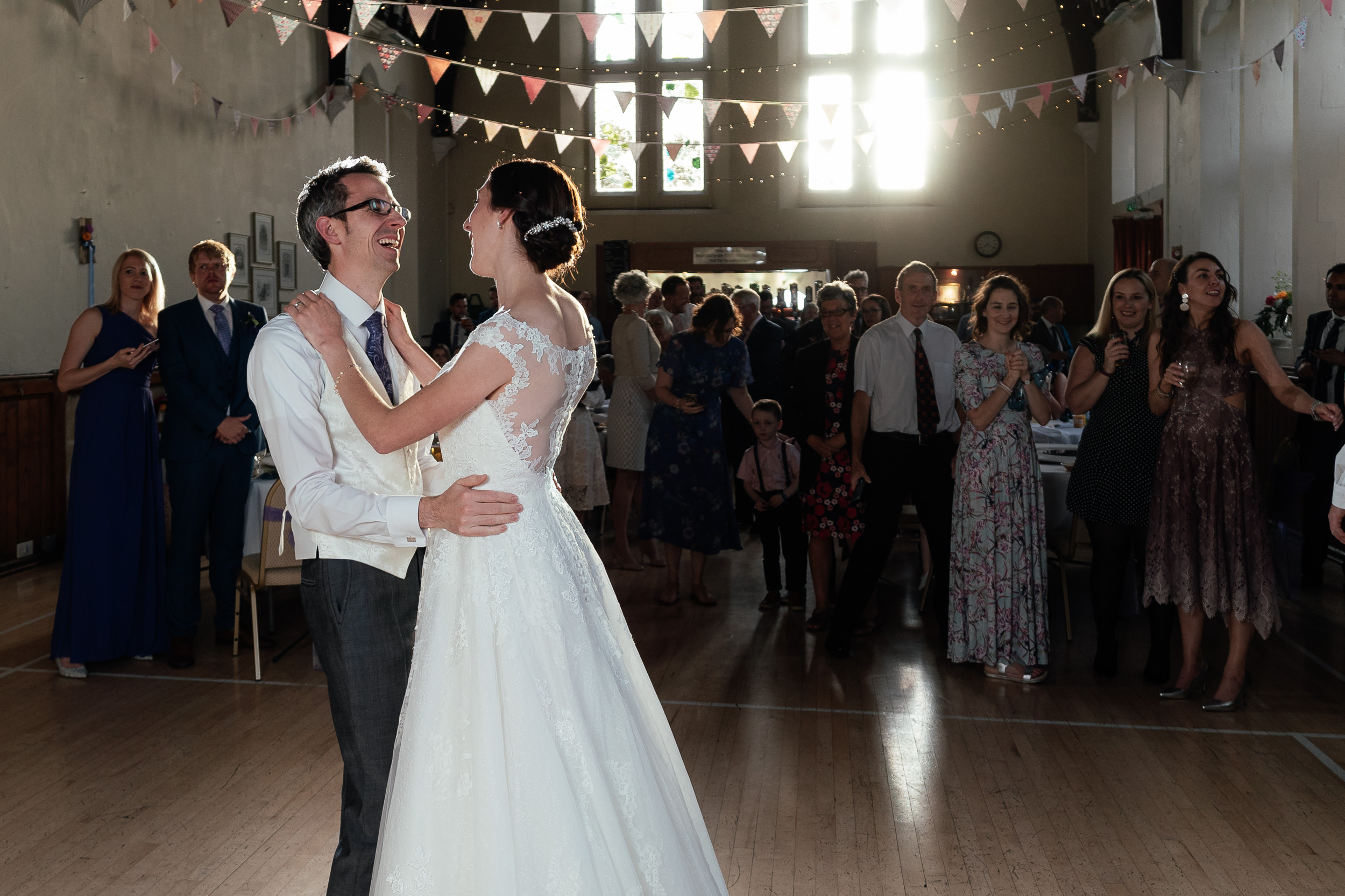 Westbury on Trym Wedding - The first dance of the Bride and Groom