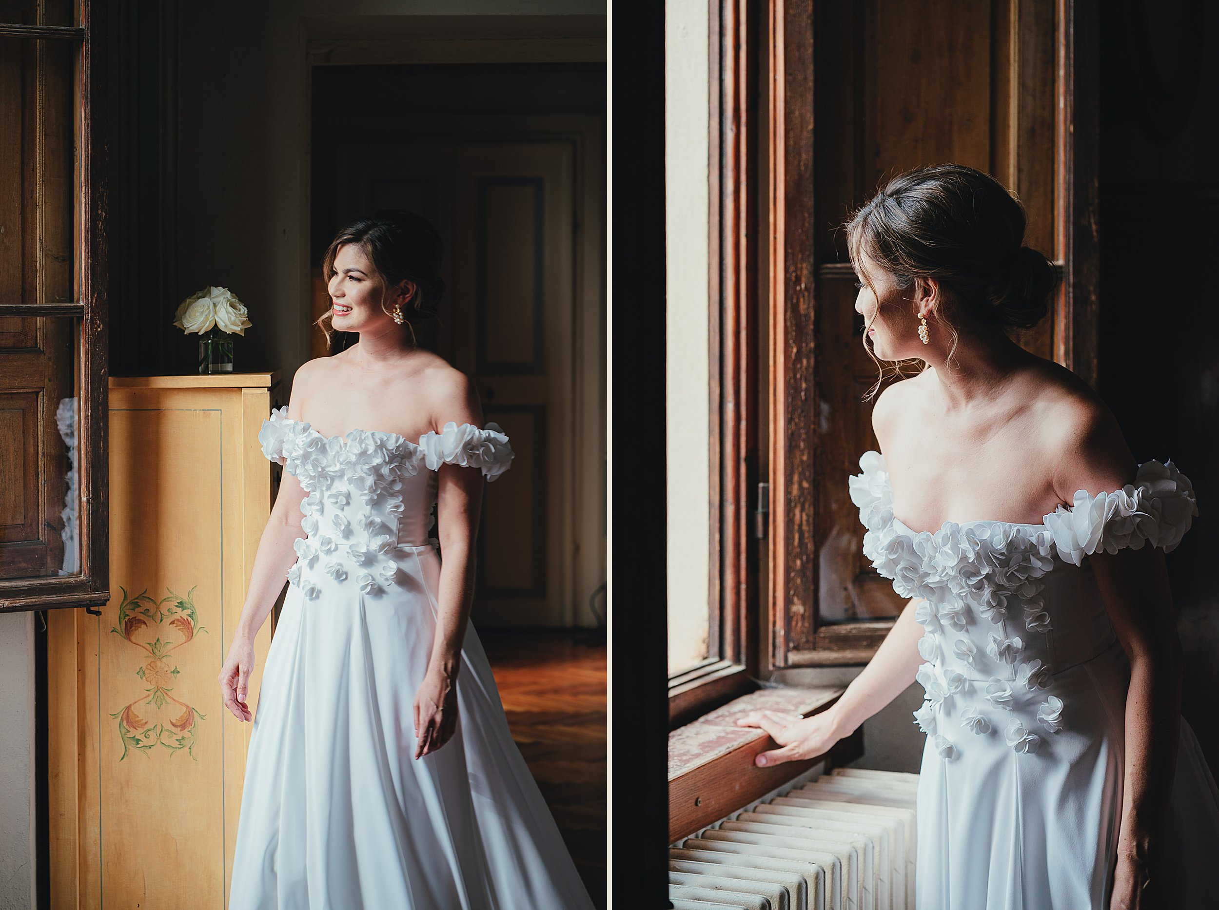 Tuscan Villa Wedding - Portraits of the Bride