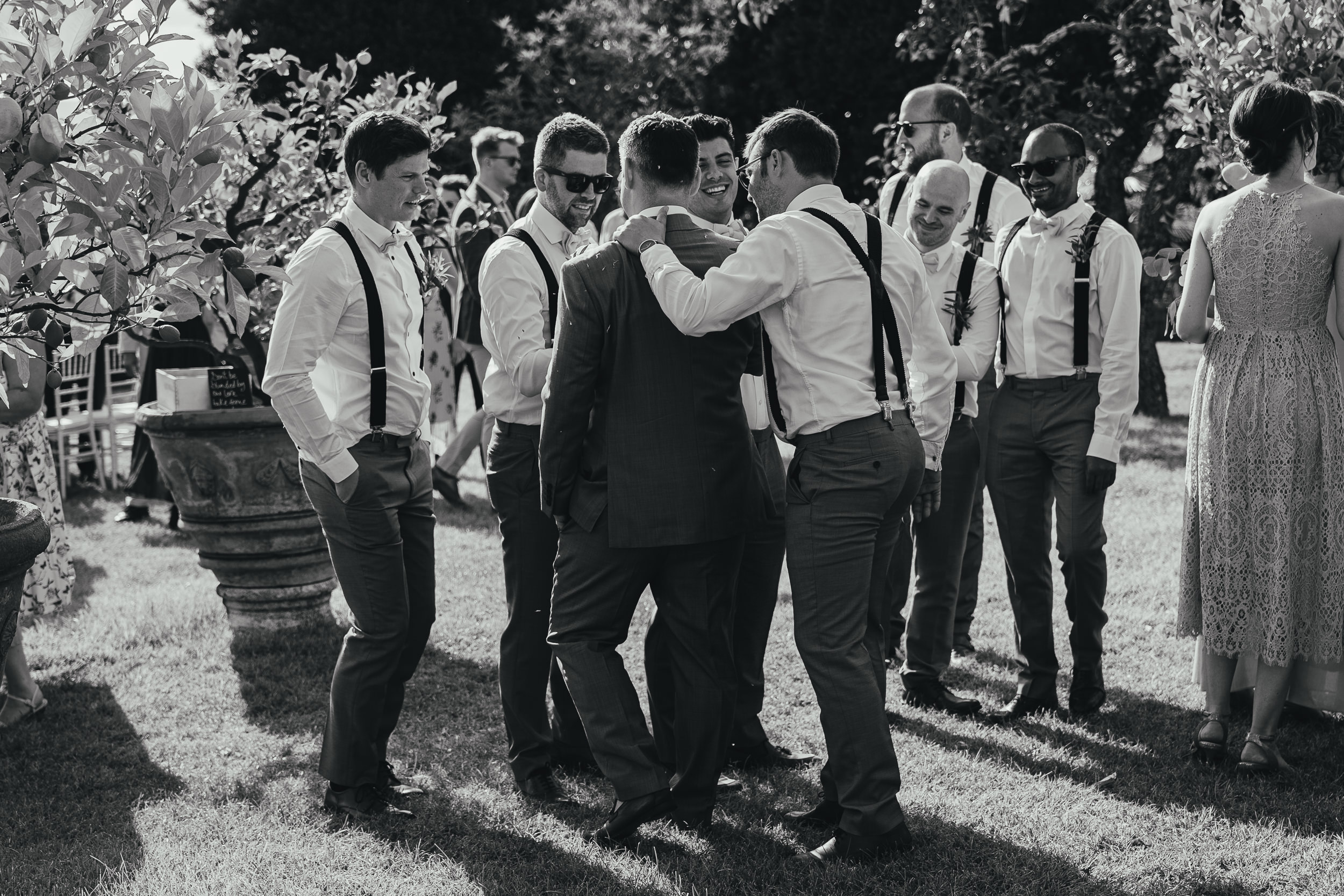 The Groom and his Best Men
